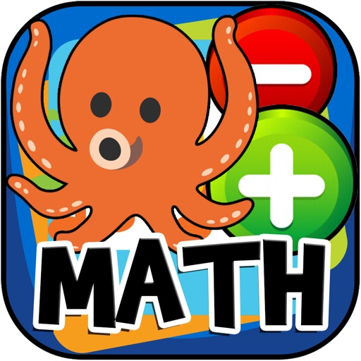 Math Game Octopus Kids