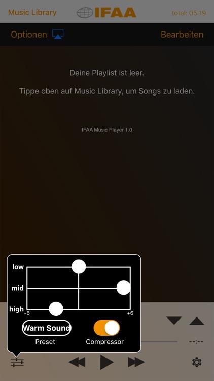 IFAA Music Player screenshot-3