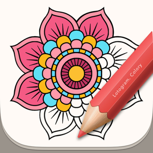 Colory: Coloring Book for Adults app
