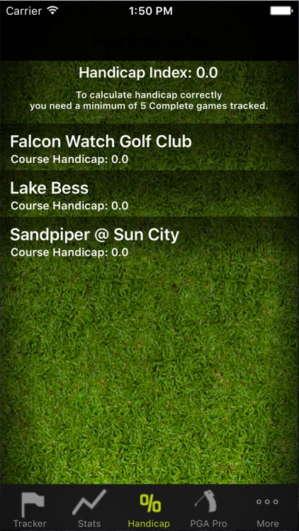 Golf Stats Tracker Pro screenshot-4