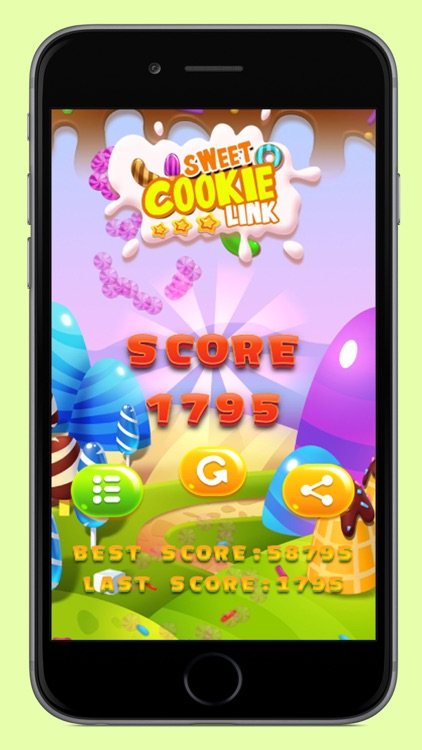 Sweet Cookie Link screenshot-3