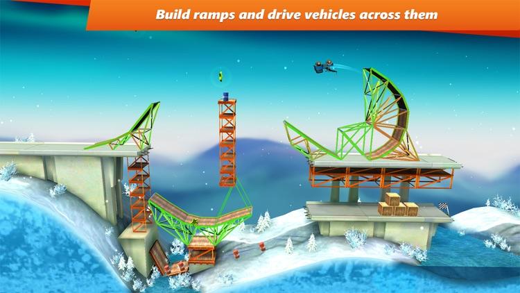 Bridge Constructor Stunts! screenshot-0