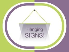 Hang a Sign! (Green/Violet)