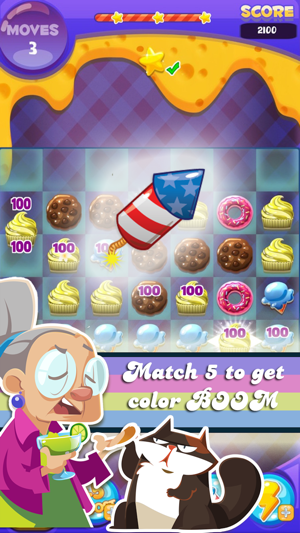 Cake Crush - Match 3 Game Screenshot