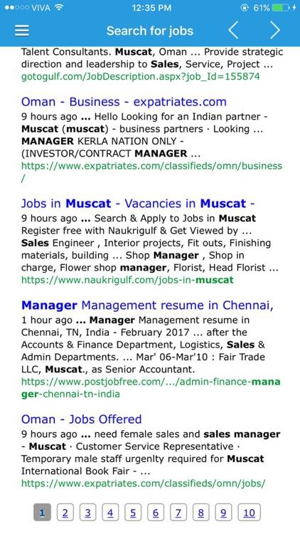 Jobs in Oman by AbdAli Ahmed