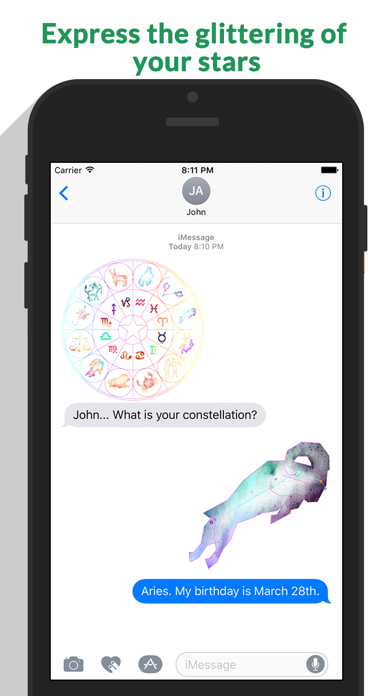Zodiac - Astrology Constellation Stickers screenshot 2
