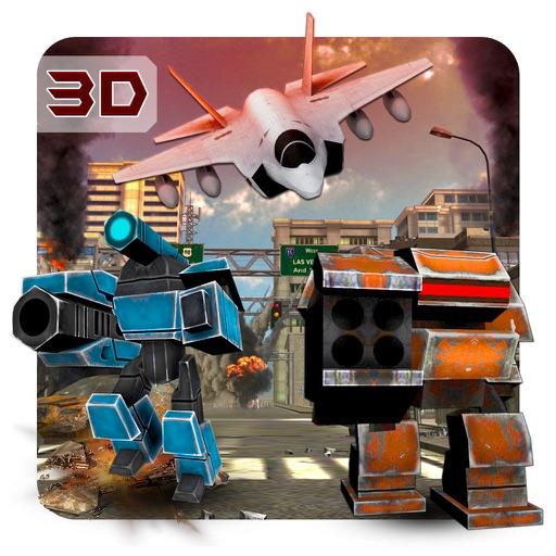 Истребитель против роботов - ВВС и реальные роботы