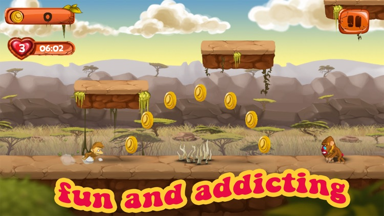 Monkey Run: Adventures on the islands screenshot-3