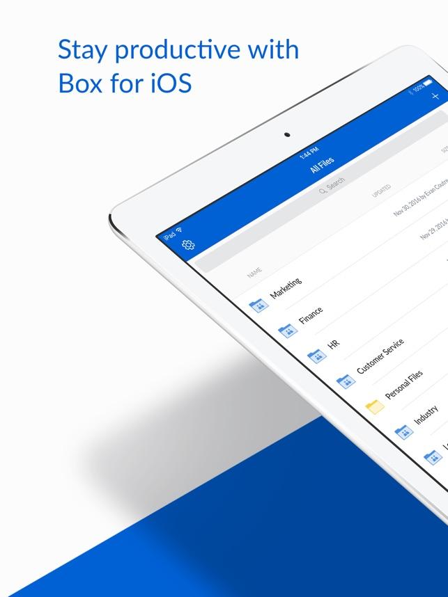 Box for iPhone and iPad Capture d'écran