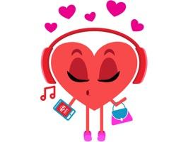 Love Radio Stickers