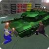 US Military Tank Mechanic Garage – Repair Workshop