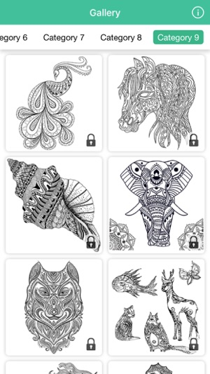 Mandala Coloring Book Cute Drawing Games For Adult On The App Store