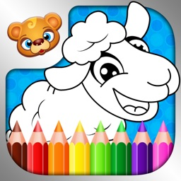 123 Kids Fun COLORING BOOK Best Paint & Draw Games