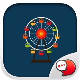 Amusement Park Stickers for iMessage
