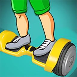 Finger Hoverboard Stunts 2k17 : Skill Skating Game