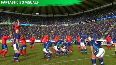 Screenshot for Rugby Nations 16 in New Zealand App Store
