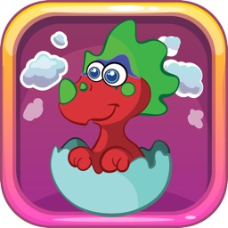 Dino Jurassic Puzzle Online - Match 3 Game