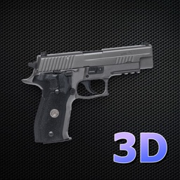 3D Gun Shot Sounds AR VR - Augmented Reality Game