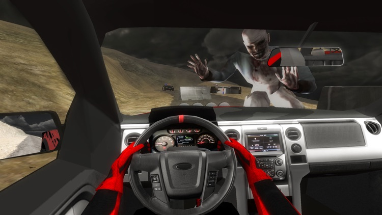 4x4 Offroad Car Driving Simulator: Zombie Survival screenshot-4