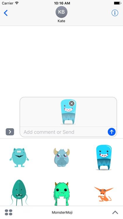 MonsterMoji - Best Emoji and Stickers