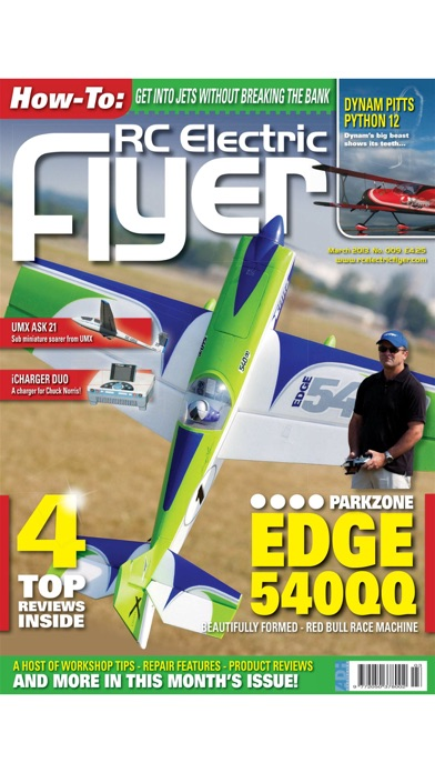 RC Electric Flyer - The Leading Radio Control Electric Aircraft Magazine Screenshot