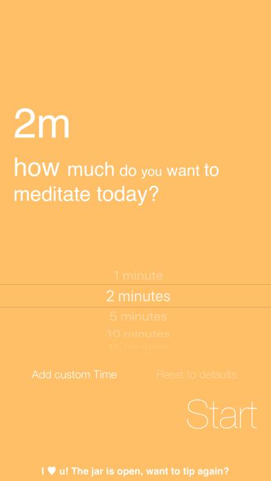 Omo, Simply Meditate screenshot three
