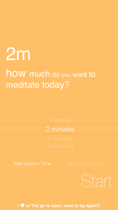 Omo, Simply Meditate screenshot three