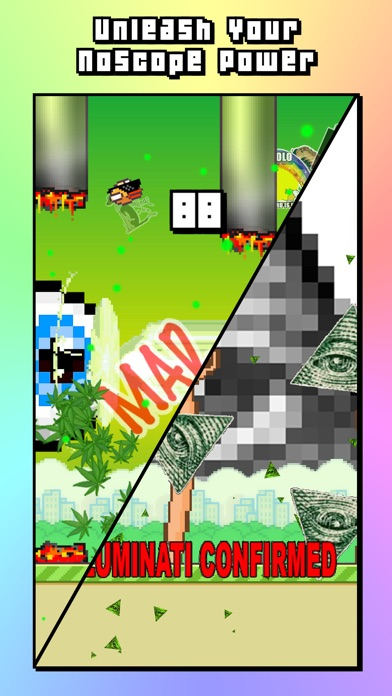 Noscope Flappy - MLG Bird Version - The Parody screenshot two