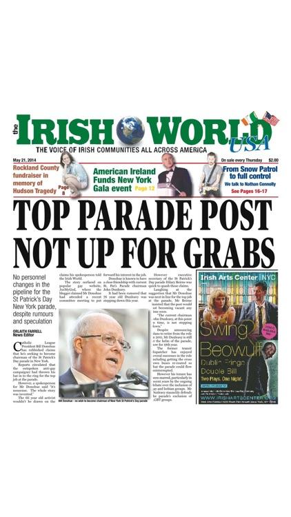 The Irish World Newspaper USA screenshot-3