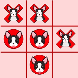 Boston Terrier Tic Tac Toe