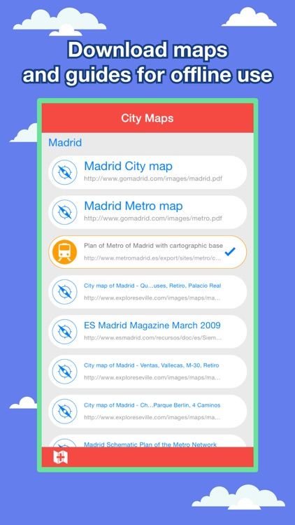 Madrid City Maps - Discover MAD with MRT,Bus,Guide