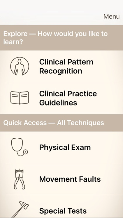 Clinical Pattern Recognition: Neck/Upper Back Pain screenshot-0