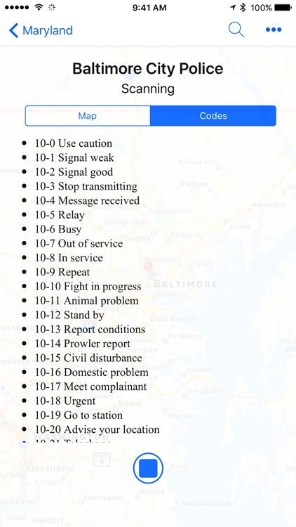 iScan - Police and Fire Scanner
