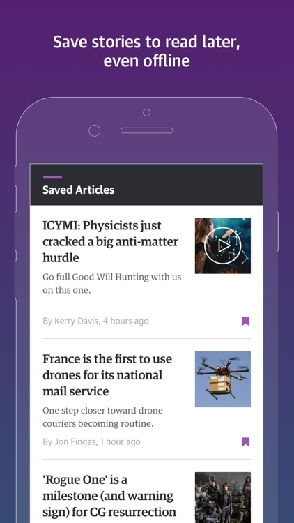Engadget: Technology, Features screenshot-3