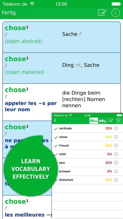 Dictionary German - French screenshot-4