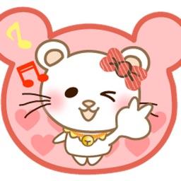 Animated Pretty Panda Cat Sticker