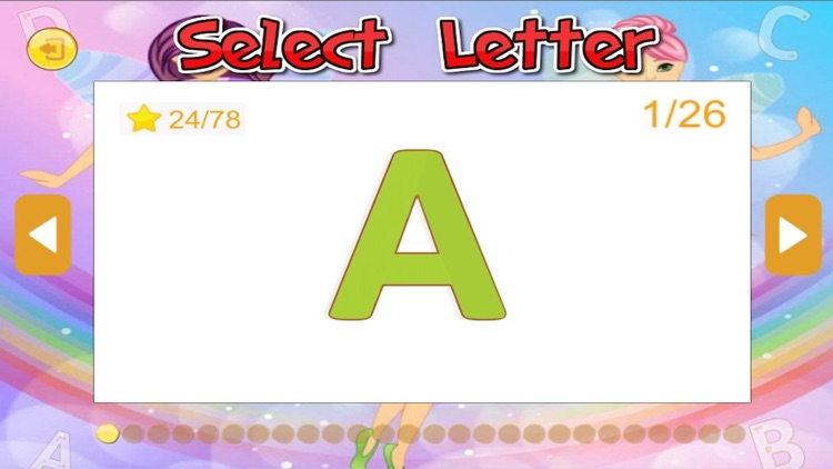 Fairy tale and ABC Alphabet tracing for kid screenshot-3