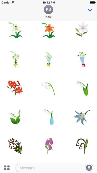 Aufkleber LilieScreenshot von 2