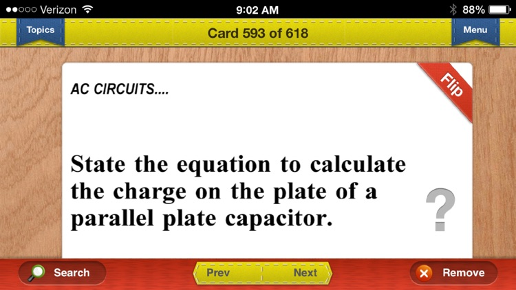 AP Physics 1 & 2 Flashcards Exambusters screenshot-3