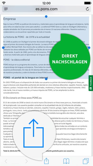 Wörterbuch Spanisch - Deutsch ADVANCED von PONSのおすすめ画像4