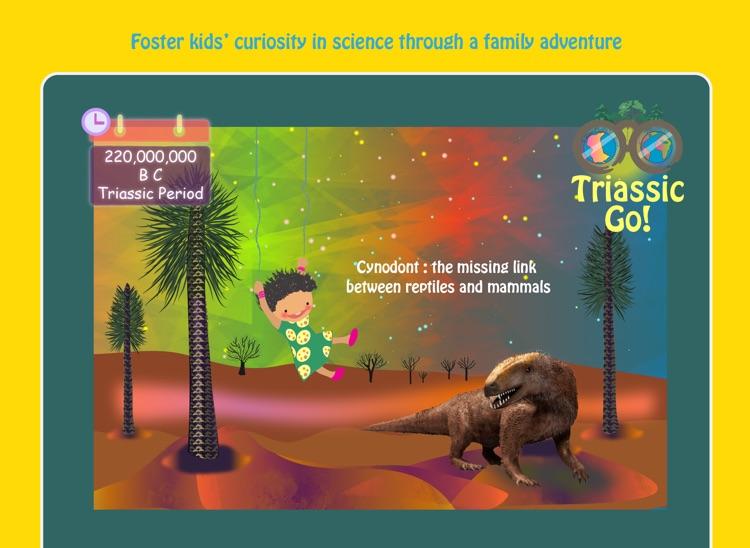 Triassic Era: 3D Dinosaur & Earth Science for Kids