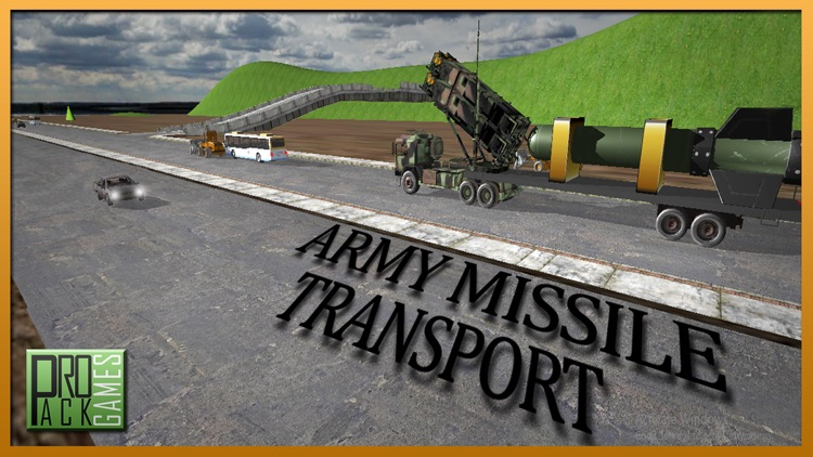 Army Missile Transporter Duty - Real Truck Driving