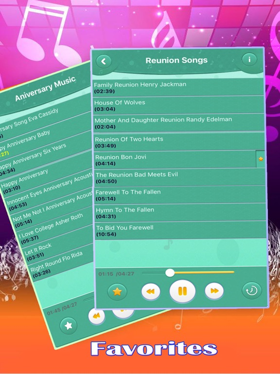 Screenshot 2 For Happy Birthday Wishes Songs