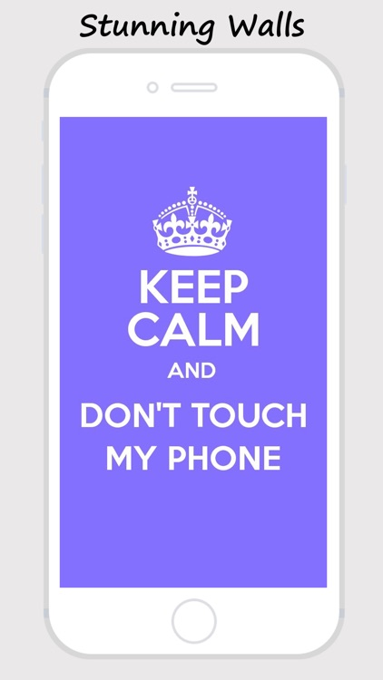 Keep Calm and Carry On Wallpapaers - Funny Posters screenshot-3