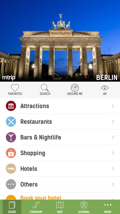 Berlin Travel Guide (with Offline Maps) - mTrip screenshot-0