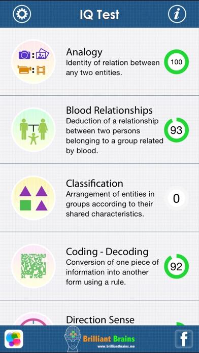 The IQ Test : Lite Edition screenshot one