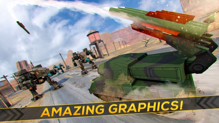 Massive Tank War | Robot World Domination Game