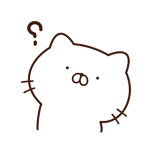 Cute Enghlish Cat Stickers icon