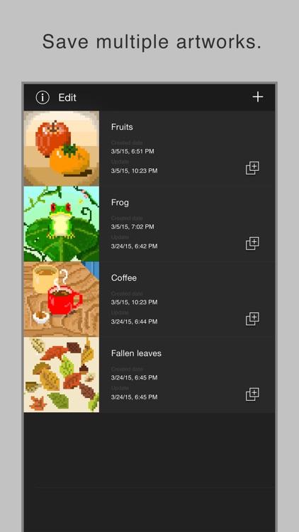 Pixel art editor - Dottable - screenshot-3