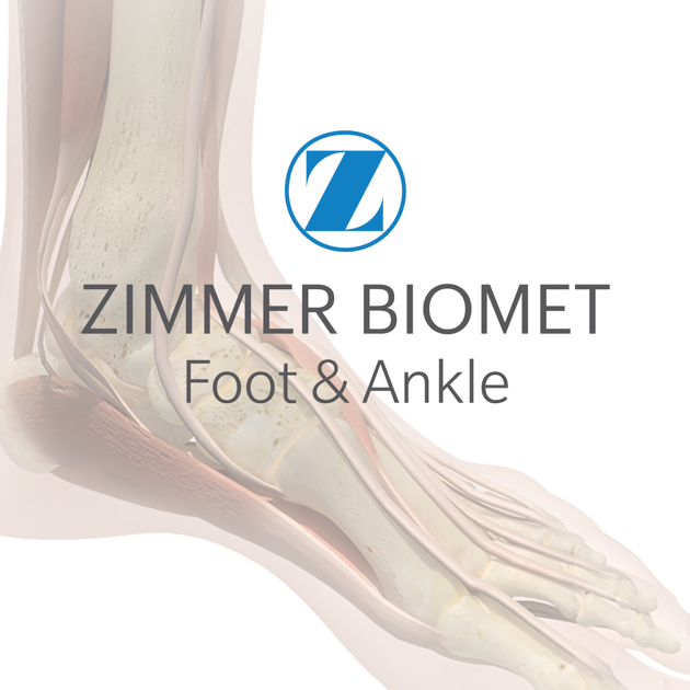 foot ankle zimmer biomet on the app store. Black Bedroom Furniture Sets. Home Design Ideas